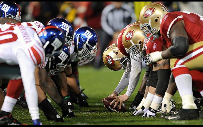 Odds Favor San Francisco 49ers over New York Giants in NFL Week 10