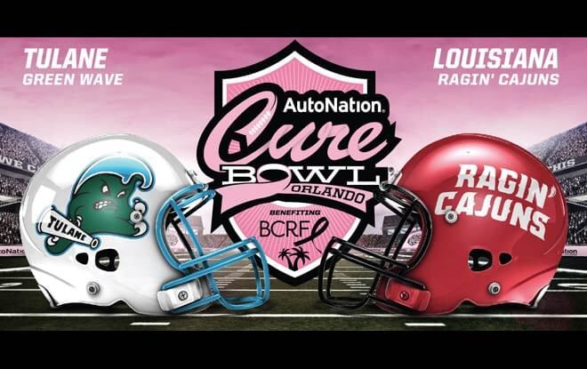 2018 Cure Bowl Betting Analysis: Tulane vs. Louisiana-Lafayette