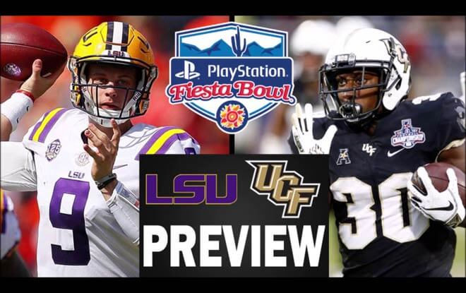 2019 PlayStation Fiesta Bowl Betting Picks and Odds - LSU Tigers vs. UCF Knights