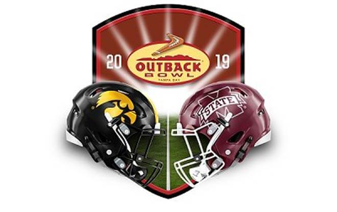 2019 Outback Bowl Best Bets and Predictions - Mississippi State Bulldogs vs. Iowa Hawkeyes