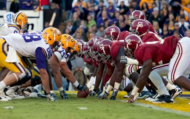 Alabama Crimson Tide vs. LSU Tigers College Football Odds and Predictions