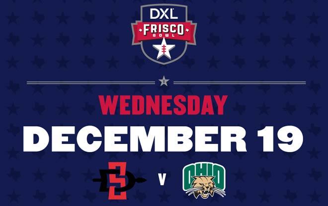 2018 Frisco Bowl Betting Analysis: Ohio Bobcats vs. San Diego State Aztecs