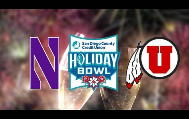 2018 Holiday Bowl Betting Odds and Predictions - Northwestern Wildcats vs. Utah Utes