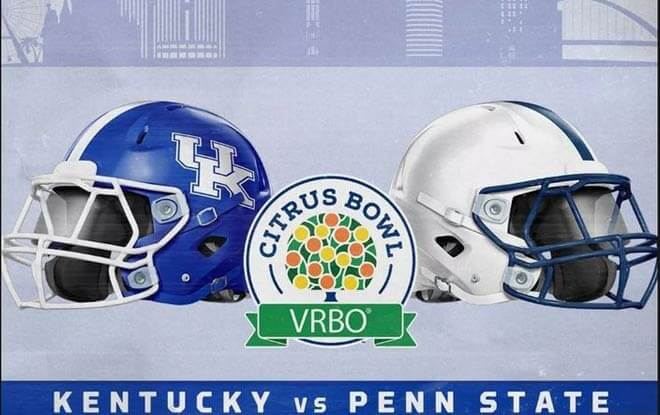 2019 Citrus Bowl Betting Picks and Odds - Penn State Nittany Lions vs. Kentucky Wildcats