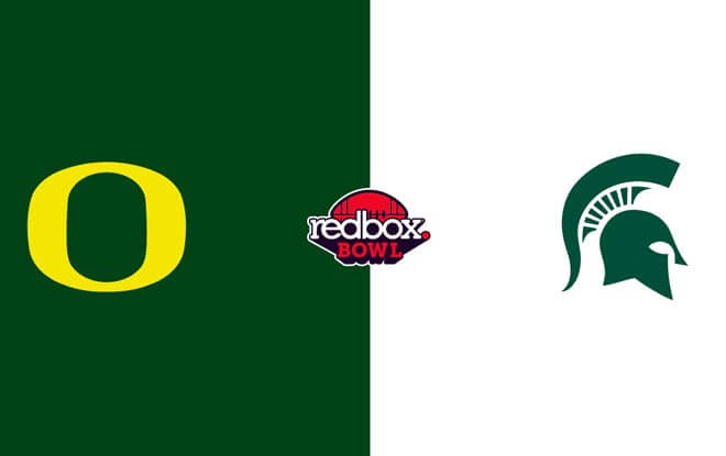 San Francisco Bowl / Redbox Bow Betting predictions and odds - Michigan State Spartans vs. Oregon Ducks