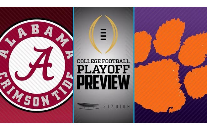 Alabama Crimson Tide vs. Clemson Tigers - College Football National Championship Odds and Picks
