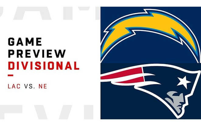 Los Angeles Chargers at New England Patriots - NFL AFC Divisional Playoffs Odds and Picks