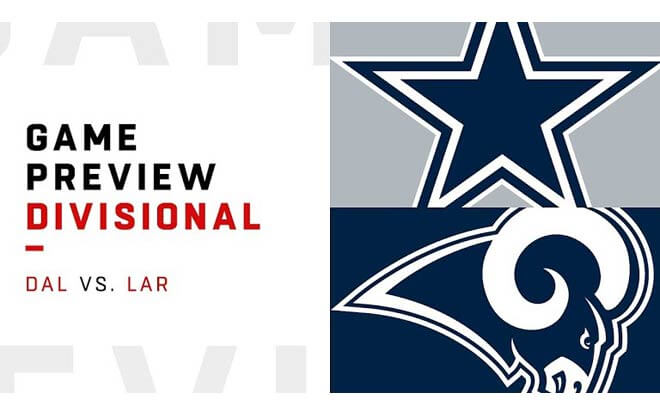 Dallas Cowboys vs. Los Angeles Rams NFC Divisional Playoffs Odds and Predictions