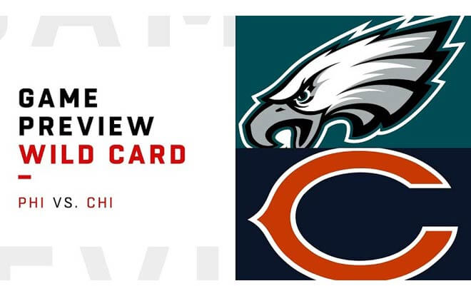 Philadelphia Eagles at Chicago Bears - 2019 NFL Wild Card Playoffs best bets