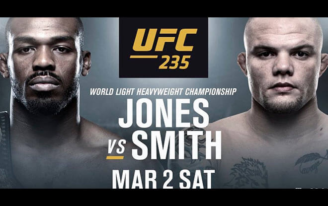 UFC 235:Jon Jones vs. Anthony Smith Latest Odds from top sportsbooks