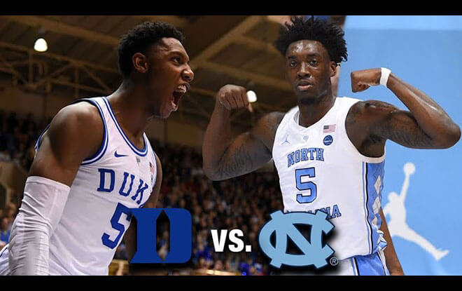 Duke Blue Devils vs. North Carolina Tar Heels College Basketball Betting Odds & Pick