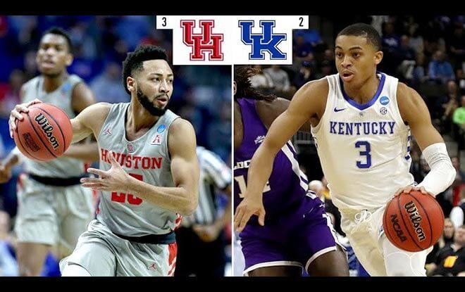 Houston Cougars vs. Kentucky Wildcats College Basketball Betting