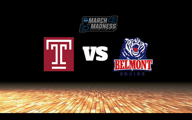 Belmont Bruins vs. Temple Owls College Basketball First Four Odds and Picks