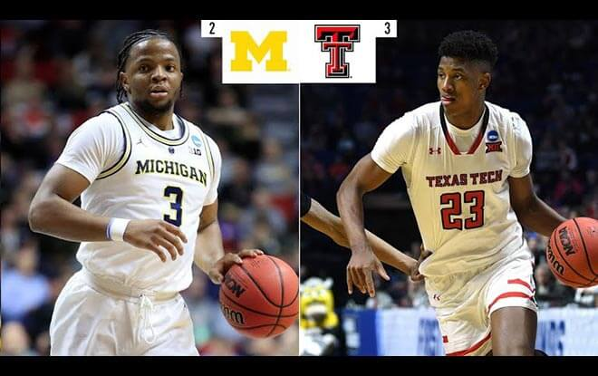 Texas Tech Red Raiders vs. Michigan Wolverines College Basketball Sweet 16 Betting odds and picks