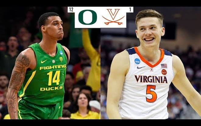 Virginia Cavaliers vs. Oregon Ducks Sweet 16 Betting Odds and picks