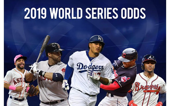 Early betting odds favorites to win the 2019 World Series