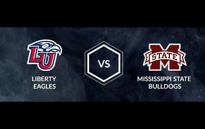 Liberty Flames vs. Mississippi State Bulldogs First Round Betting