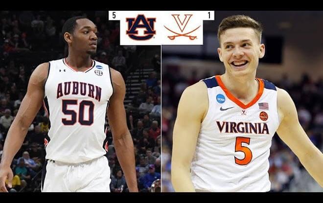 Virginia Cavaliers vs. Auburn Tigers NCAA Basketball Final Four Betting Picks and Odds