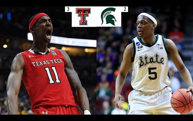 Michigan State Spartans vs. Texas Tech Raiders Final Four Betting Picks Odds