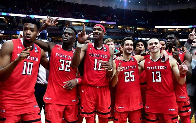 Texas Tech Red Raiders vs. Virginia Cavaliers Sportsbook Lines