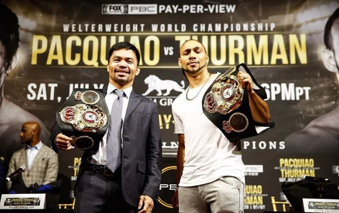 Manny Pacquiao vs. Keith Thurman Boxing Fight Odds, Betting Analysis - July 20, 2019.