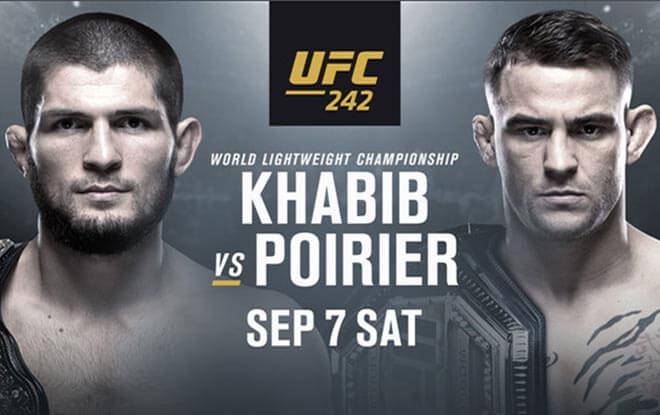 Khabib Nurmagomedov vs. Dustin Poirier Betting Odds