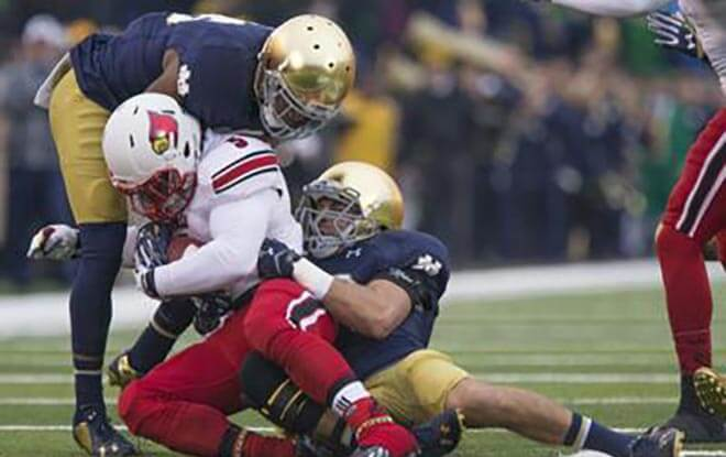 Notre Dame Fighting Irish vs. Louisville Cardinals NCAA Football betting odds and picks