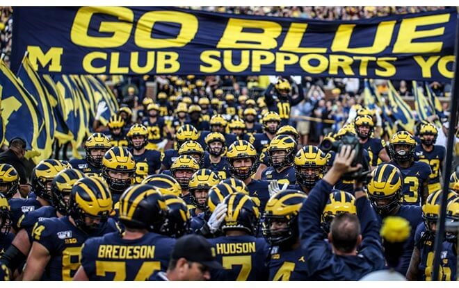 Michigan Wolverines College Football Best Bets