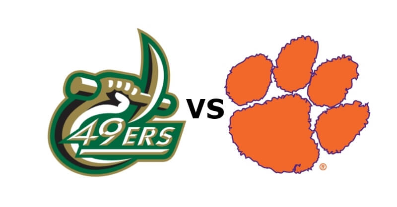 Clemson Tigers vs. Charlotte 49ers College Football Best Bets
