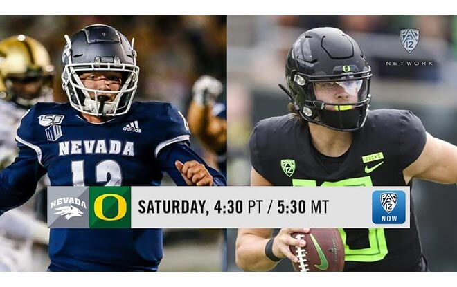 Oregon Ducks vs. Nevada Wolfpack College Football Betting Odds and Preview