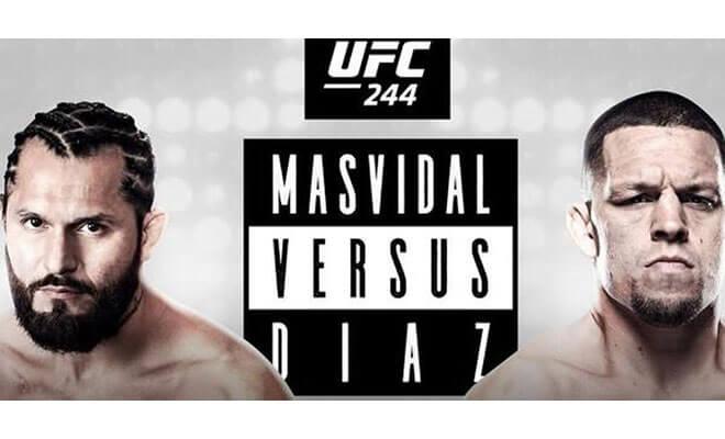 Jorge Masvidal vs. Nate Díaz UFC 244, betting odds and picks