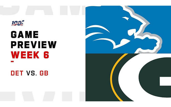 Detroit Lions vs. Green Bay Packers NFL Week 6 Preview, Odds and Predictions