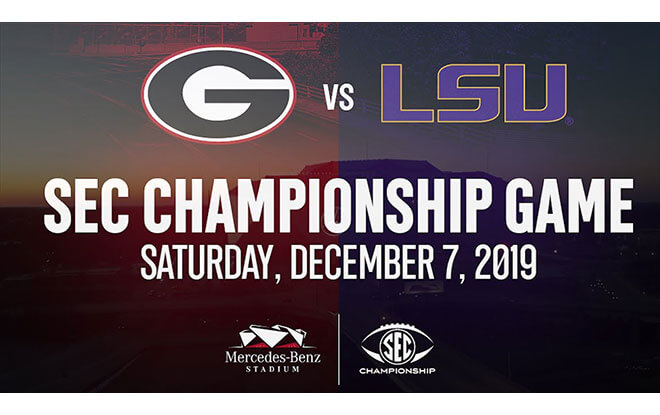2019 SEC Championship Game Betting - Georgia vs. LSU Picks