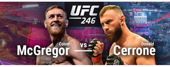 UFC 246 Betting: McGregor vs. Cerrone Latest Odds & Picks