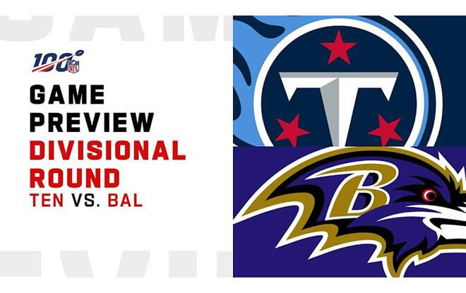 Tennessee Titans vs. Baltimore Ravens NFL Divisional Playoffs Betting Odds and Picks