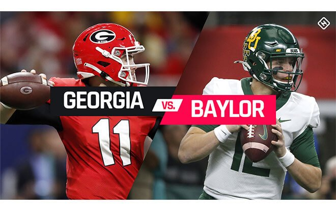 2020 Sugar Bowl odds, line: Baylor vs. Georgia picks
