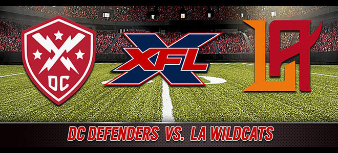 DC Defenders vs. Los Angeles Wildcats XFL Betting Preview, Odds and Predictions