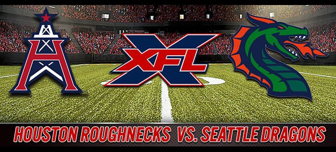 Seattle Dragons vs. Houston Roughnecks XFL Betting Odds and Predictions