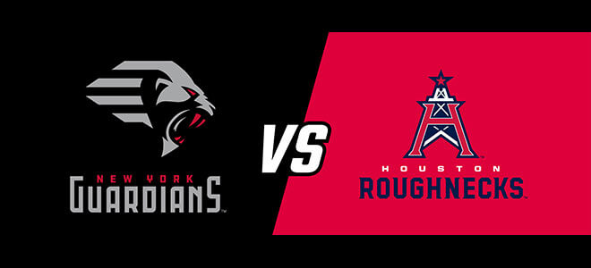 Houston Roughnecks vs. New York Guardians XFL Betting Predictions and Odds