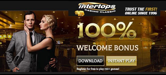 Intertops Online Casino Review - Get 100% Welcome Bonus Now
