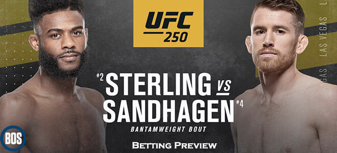 Aljamain Sterling vs. Cory Sandhagen UFC 250 Betting Preview and Odds