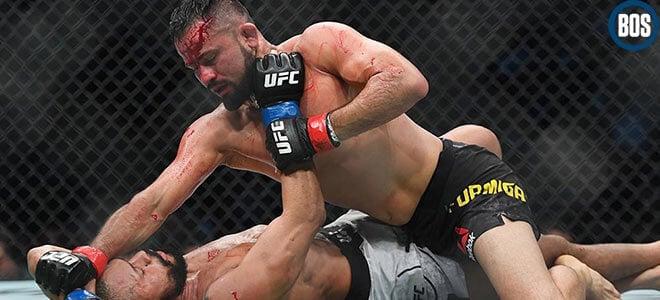 Jussier Formiga vs. Alex Perez Betting Preview - UFC 250