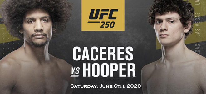 UFC 250 Featherweight Betting Alex Caceres vs. Chase Hooper