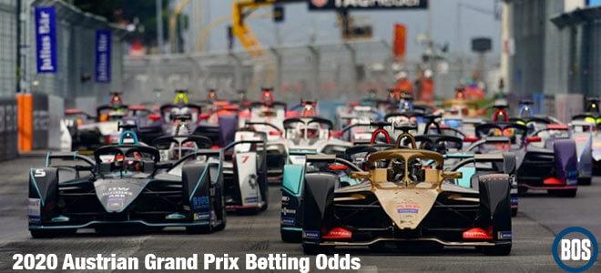 2020 Austrian Grand Prix Betting Odds to Win