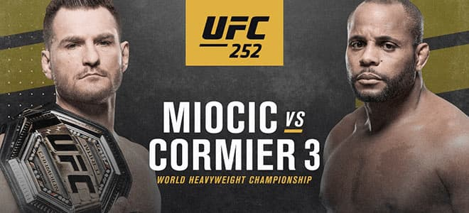 Stipe Miocic vs. Daniel Cormier 3 - UFC 252 Latest Odds, Picks and Breakdown