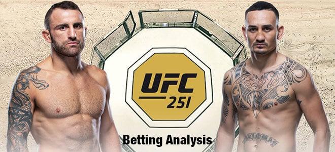 Alexander Volkanovski vs. Max Holloway UFC 251 Odds and Betting Preview