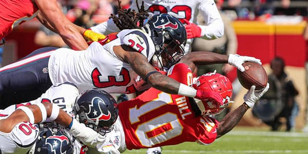 Houston Texans vs. Kansas City Chiefs Betting Preview and Odds