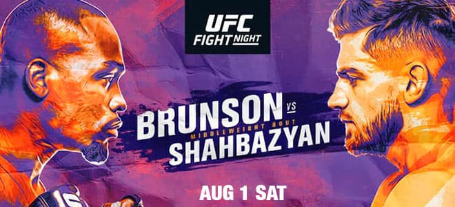 UFC Fight Night: Brunson vs. Shahbazyan Main Card Odds, Picks and Breakdown