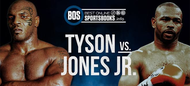 Mike Tyson vs. Roy Jones Jr - Betting Preview and Odds