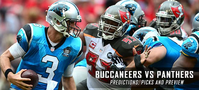 Carolina Panthers vs. Tampa Bay Buccaneers NFL Betting preview odds and picks